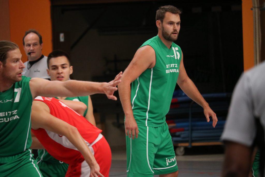 Lukas Ruther 1. Herrenmannschaft TVK Basketball
