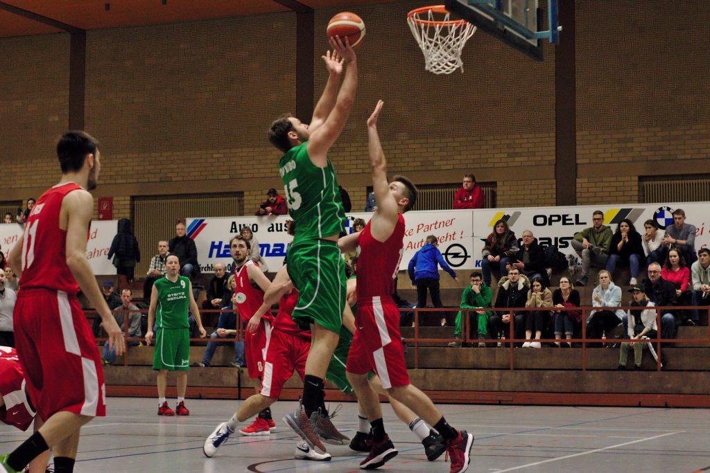 TVK Basketball Saison 2019/20 - TVK I - FCK II - Lukas Ruther
