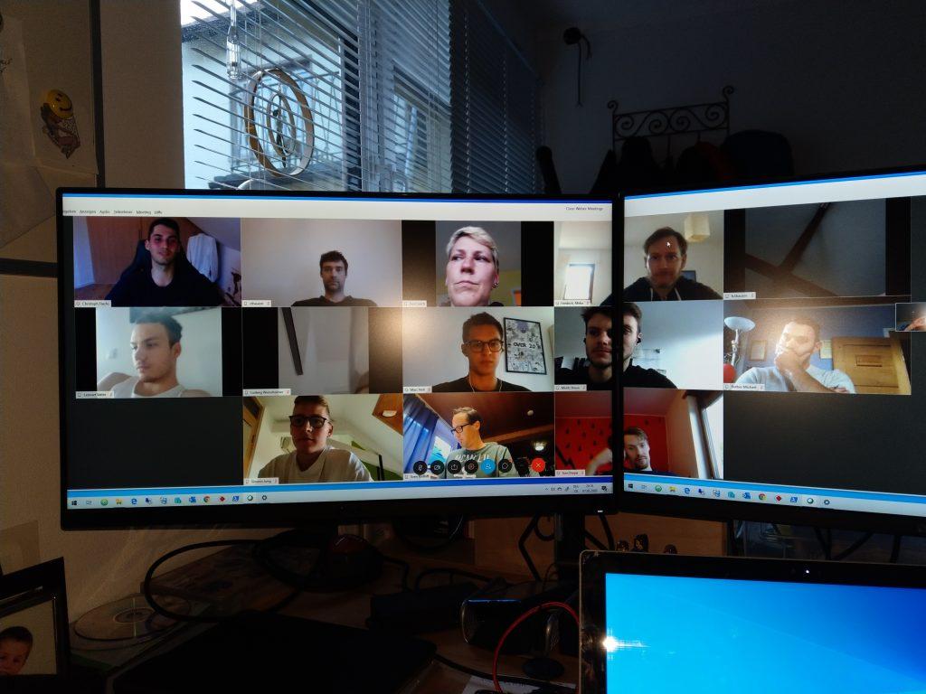 TVK I Videokonferenz zur Entscheidung Oberliga 2020